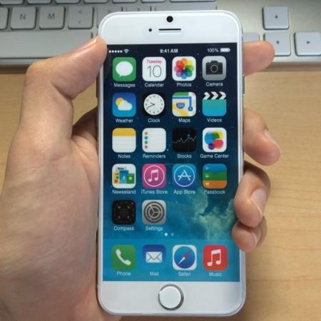 iPhone6のモックが届いたのでいろいろ比べてみた